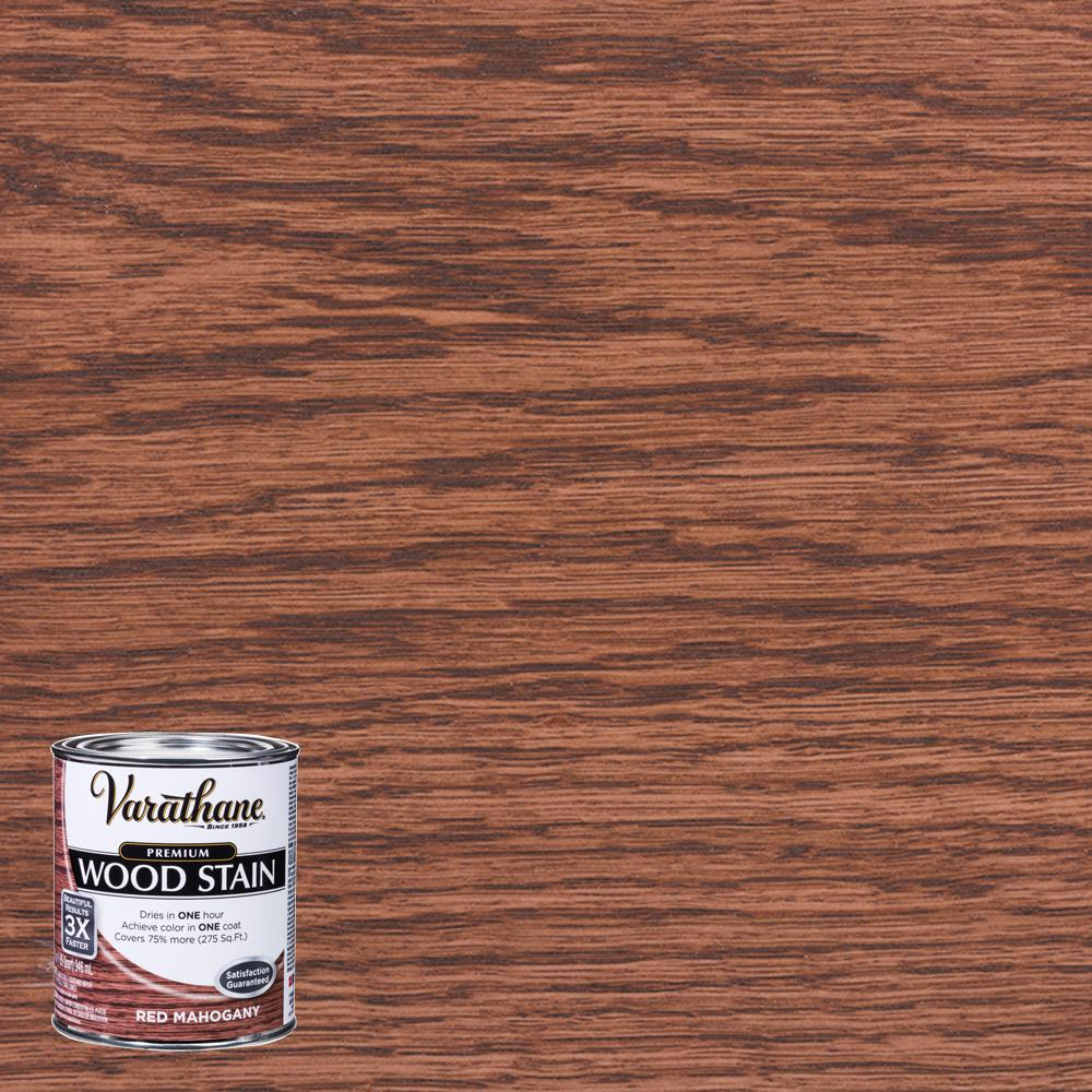 Red Mahogany Interior Wood Stain
