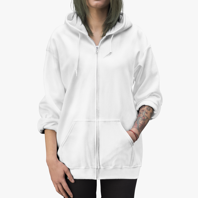 Womens Zip Up Hoodie